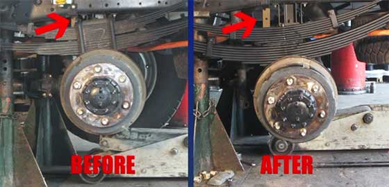 Suspension Upgrade Isuzu NPS300