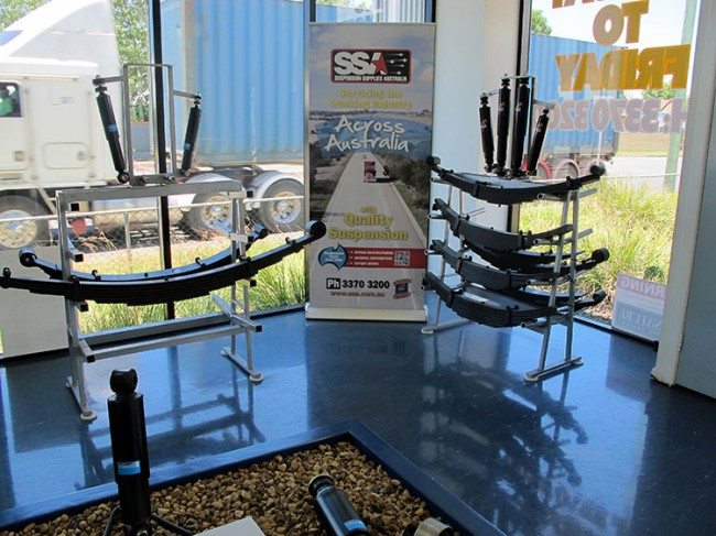 Showroom of Suspension Range