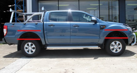 Ford Ranger 4 Door After Suspension Upgrade
