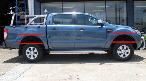Ford Ranger After Suspension Upgrade