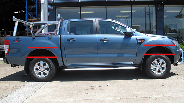 Ford Ranger 4 Door Before Suspension Upgrade