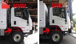 Isuzu NPS300 4x4 Truck