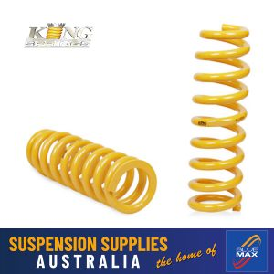 Rear Coil Springs - Heavy Duty - Mitsubishi Pajero NF NL SWB V6 Wagon 1989-2000 - 1 Pair