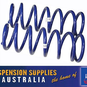 Coil Springs - Front - Medium Duty 50mm Raised - Toyota Landcruiser 80 Series Wagon 8/1991 Onwards - 1 Pair