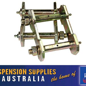 Greasable Shackle - Rear - Holden Rodeo pickup KB/TFS 1988 to 2002 - Sold Each