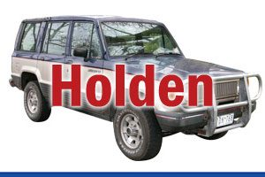 HOLDEN 4WD