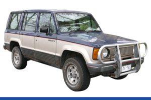 Jackaroo LWB Wagon - 11/1986-12/1991