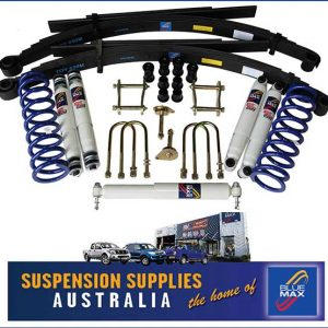 4x4 Suspension Lift Kit - Extra Heavy Duty 50mm Raised - Toyota Landcruiser 79 Series Single Cab Pick Up
