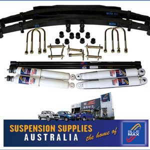 4x4 Suspension Lift Kit - Heavy Duty - Overslung - Ford Courier 5/1987 Onwards & Ford Raider - 8/1991 Onwards