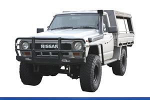 GQ Y60 Cab Chassis & Utility 3/1988-5/1999 - Leaf Sprung