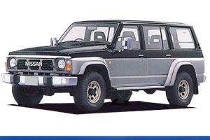 GQ Y60 LWB Station Wagon & GR Safari WYG60