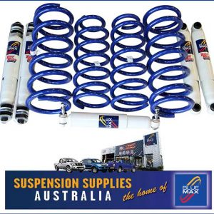 4x4 Suspension Lift Kit - Medium Duty Raised 50mm - Landrover Discovery Series II 2/1999 to 2004