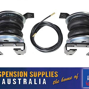 Airbag Suspension Kit - Polyair Bellows - Nissan Navara NP300 4x4 Leaf Sprung Models - Standard Height Vehicles