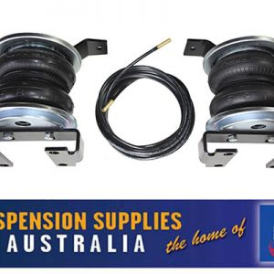 Airbag Suspension Kit - Polyair Bellows - Rear To Suit Raised Height Vehicles - Nissan Patrol GQ Leaf Sprung - 1 Kit
