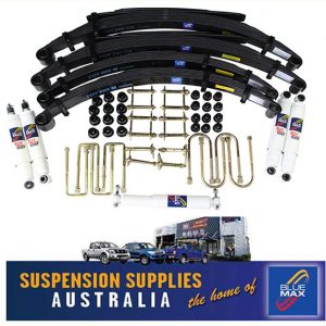 4x4 Suspension Lift Kit - Comfort 50mm Raised - Toyota Landcruiser 75 Series Pick Up & Troop Carrier – 1985 to 9/1999
