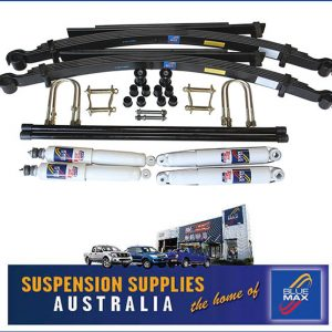 4x4 Suspension Lift Kit - Heavy Duty Leaf Springs Rear - Mitsubishi Challenger - Montero Sport PA 1998 Onwards