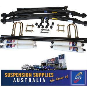 4x4 Suspension Lift Kit - Comfort Raised 50mm - Nissan Navara D22 - 3/1997 Onwards