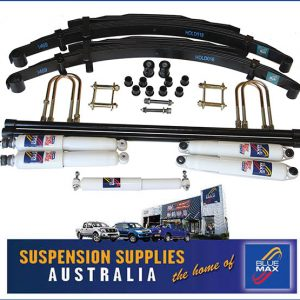 4x4 Suspension Lift Kit - Extra Heavy Duty Raised 50mm - Toyota Hilux IFS - 1988 to 2004