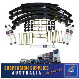 4x4 Suspension Lift Kit - Heavy Duty 50mm Raised - Nissan Patrol GQ Y60 Cab Chassis Pick Up - 3/1988 to 5/1999