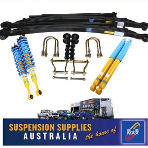4x4 Bilstein B6 Suspension Lift Kit - 45mm Raised - Mitsubishi Triton MQ- MR Pickup 2015 Onwards