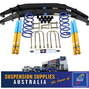 4x4 Bilstein Suspension Lift Kit - 45mm Raised - Toyota Landcruiser 76 Series 2007 To Current