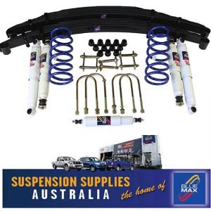 4x4 Suspension Lift Kit - Extra Heavy Duty Raised 50mm- Toyota Landcruiser 78 Series Troop Carrier - 9/1999 to Current