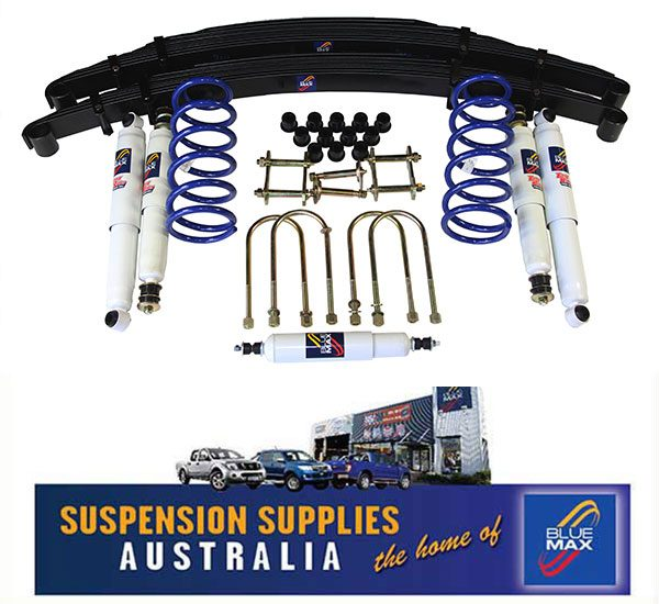 4x4 Suspension Lift Kit - Heavy Duty Raised 50mm- Toyota Landcruiser 78  Series Troop Carrier - 9/1999 to Current
